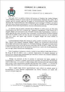 La relazione del Dirigente Tecnico del Comune di Limbiate del 19 settembre 2013 (Pagina 2)